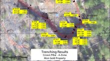 Sixty North Gold's 2017 Prospecting Results Supports the High-Grade Nature of the Past Producing A-Zone at the Mon Gold Property