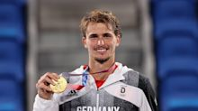 Alexander Zverev wins Olympic gold for Germany as he cruises to victory over Russian Karen Khachanov