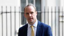 """Britain will not """"look away"""" from Hong Kong responsibilities, says Raab"""