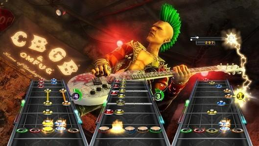 Report: Guitar Hero 7 used only a six-string guitar, canned in 2011