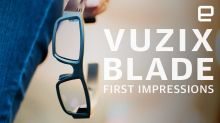 Vuzix Blade AR glasses First Impressions