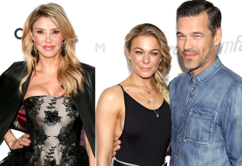Brandi Glanville is feuding again with LeAnn Rimes and Eddie Cibrian. (Photo: Getty Images)