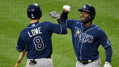 Rays are surprise winners of AL East title