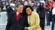 """Barack Obama says wife Michelle was """"bracing herself for calamity"""" in the White House"""