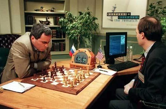 IBM celebrates the 15th anniversary of Deep Blue beating Garry Kasparov (video)