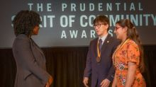 Two Ohio youth honored for volunteerism at national award ceremony in Washington, D.C.