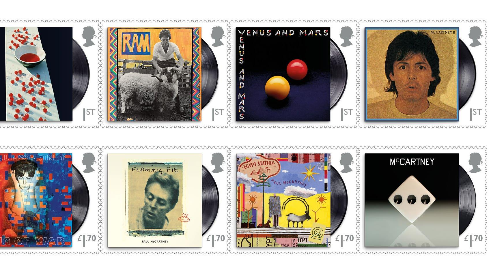 Maybe he's amazed – special stamps revealed to honour Sir Paul McCartney