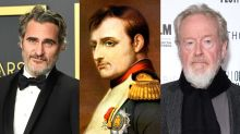 Joaquin Phoenix to play Napoleon Bonaparte in Ridley Scott historical epic 'Kitbag'