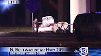 At least two killed in fiery NW Harris County crash
