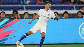 Pulisic sees first Chelsea minutes during preseason