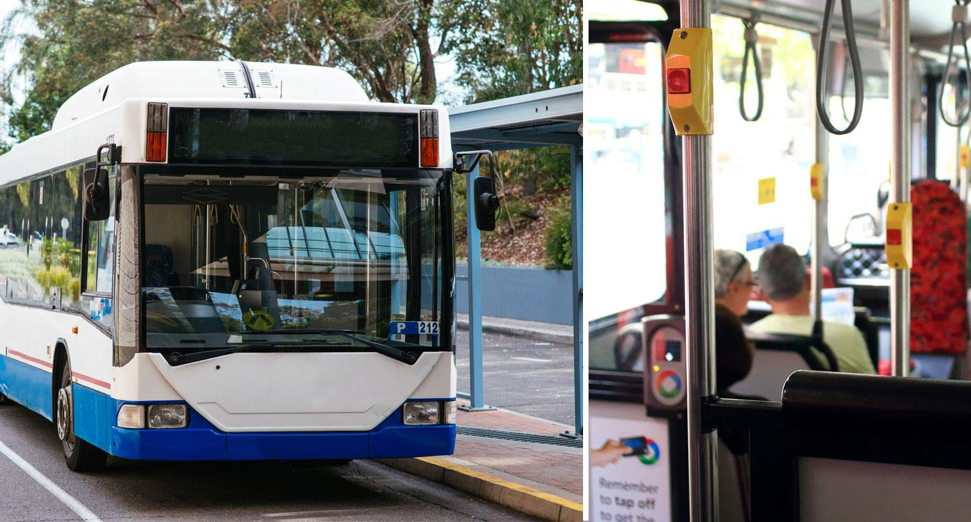 Homeless man denies sex romp in broad daylight on NSW bus