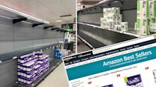 Toilet paper becomes Amazon 'best seller' ahead of Covid lockdown