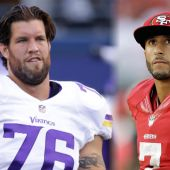 Ex-49er Alex Boone rips Colin Kaepernick over National Anthem stance