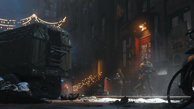 Ubisoft shows off Snowdrop engine with help from Tom Clancy's 'The Division'