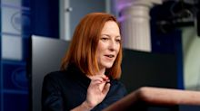 Psaki says Biden 'does not spend his time tweeting conspiracy theories' after a GOP senator criticized the president's social-media use