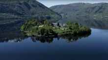 You can now buy an island in the middle of a Norwegian fjord (boathouse included)
