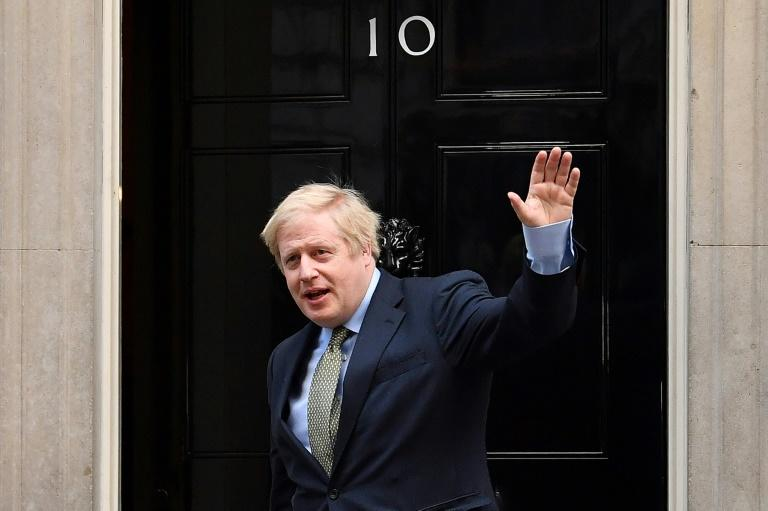 Back at work, Boris Johnson urges patience over United Kingdom lockdown
