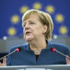 Germany's Merkel calls for creation of an EU army