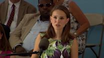 Natalie Portman Recalls 'Heartbreak' and 'Difficult Times' at Harvard