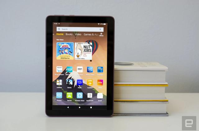 Amazon sale cuts up to $55 off its Fire HD tablets