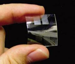 Researchers develop flexible, see-through battery
