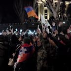 Demonstrations in Armenian Capital Amid Calls for Snap Election