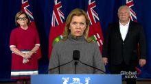 Coronavirus: Elliott says province 'actively working' to expand lab capacity