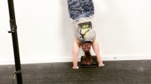 Plus-Size CrossFit Athlete Nails Handstand in Inspirational Video