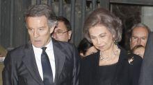 Relacionan a la reina Sofía con Alfonso Díez, viudo de la duquesa de Alba