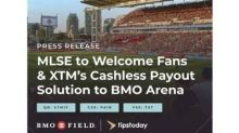 MLSE Brings XTM's Cashless Payout Solution to BMO Field