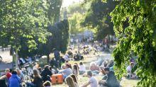 Umstrittene Entscheidung:Berliner Park macht abends zu