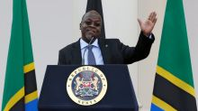 Tanzania's 'Bulldozer' president hopes mega-projects impress voters