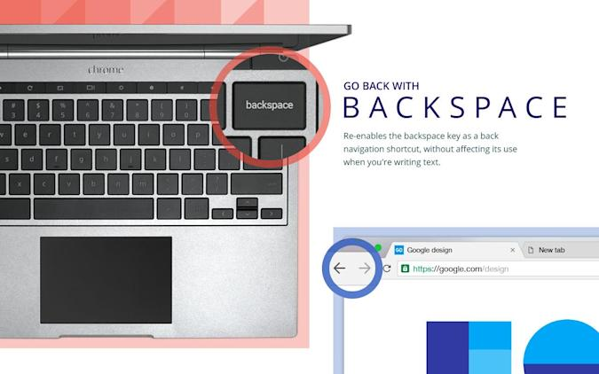Chrome extension restores the backspace key to its former glory