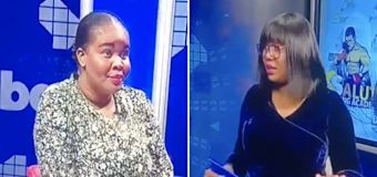 'Jessica, we are live': Awkward on-air TV gaffe