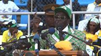 Zimbabwe: Mugabe holds final rally before election day