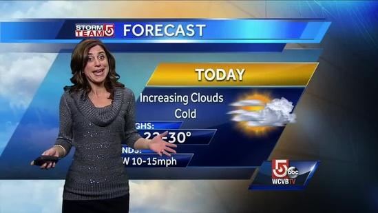 Cindy's 2-day Nor'easter snowy forecast