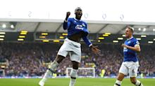 Romelu Lukaku at the double as Everton end Craig Shakespeare's Leicester run