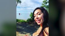 Farrah Abraham's Daughter Sips on $150 Apple Juice with Gold Flakes While on Vacation in Dubai