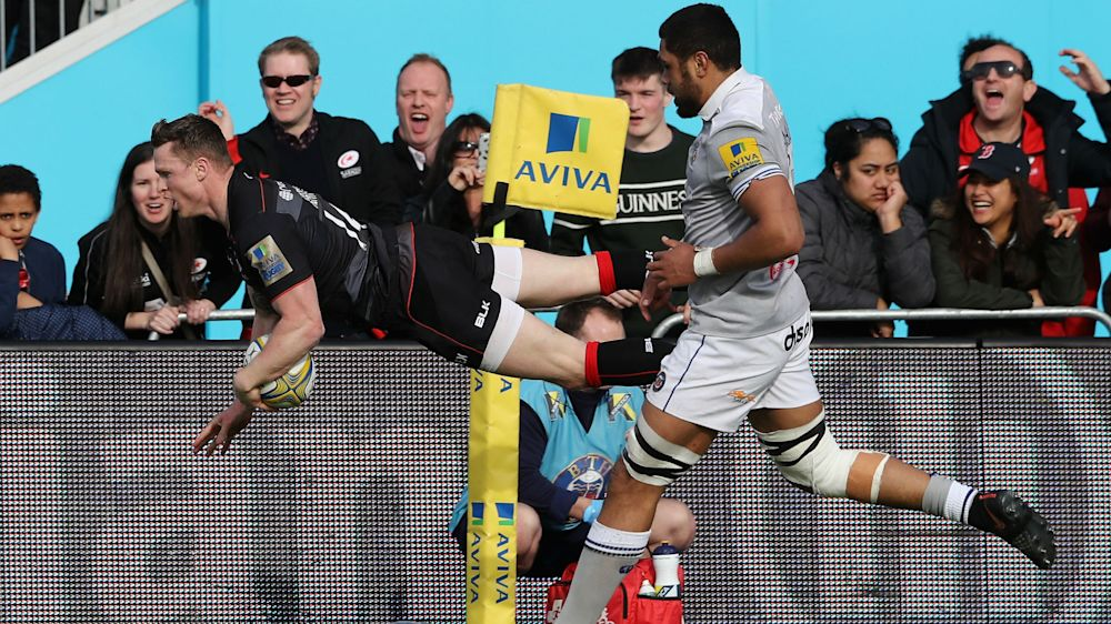 Historic try 'so irrelevant' for departing Sarries wing Ashton