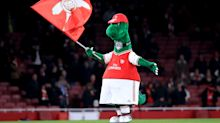 Arsenal fans outraged after club reportedly release beloved mascot Gunnersaurus