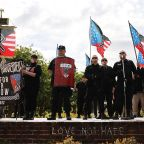 Ten arrested as southern US neo-Nazi rally clash with protests
