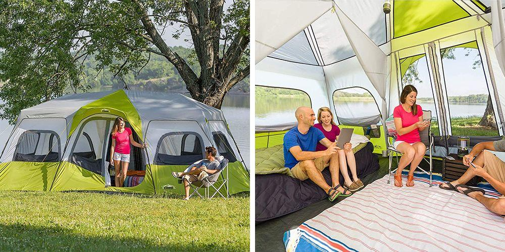 This Giant Tent Has 3 Rooms and Can Fit