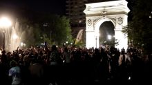 Mob runs riot in Washington Square Park and party promoter behind 'out-of-control' raves
