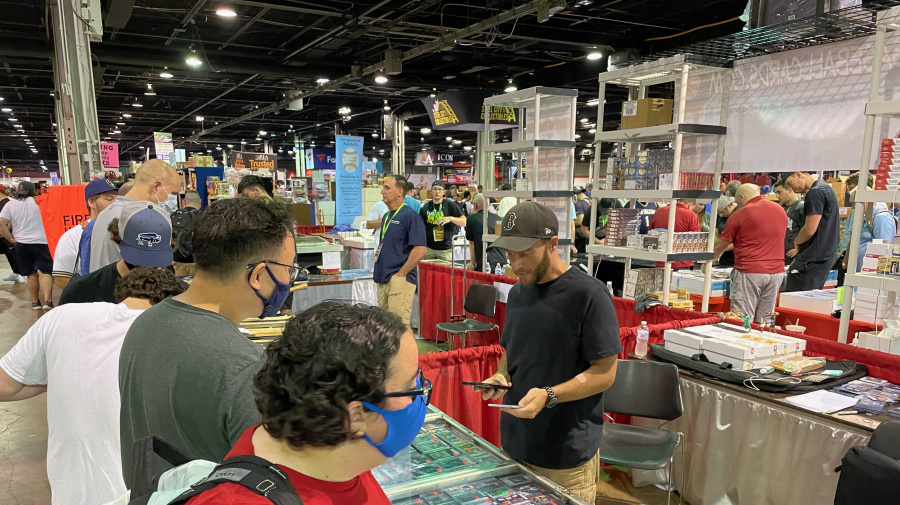 Sports card-collectible industry remains robust