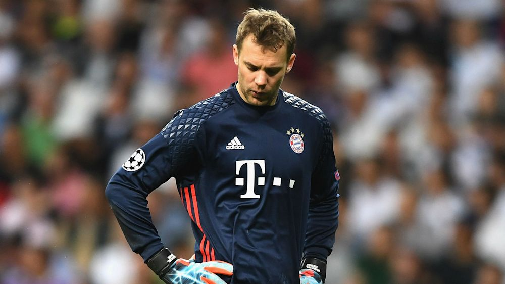 Blow for Bayern as injury rules Neuer out for rest of the season