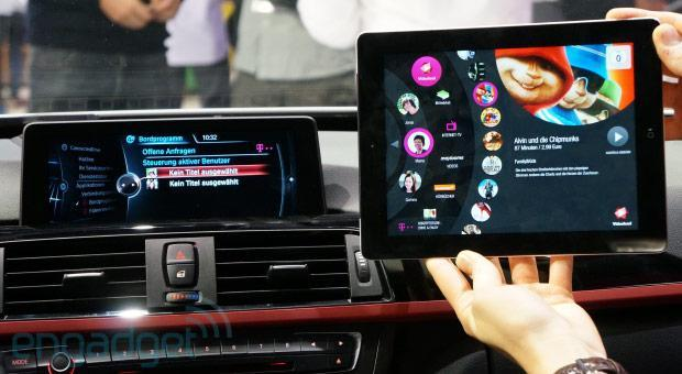 Deutsche Telekom's LTE Connected Car delivers streaming media with complete control (hands-on video)