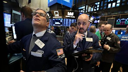 Stocks dip into the red