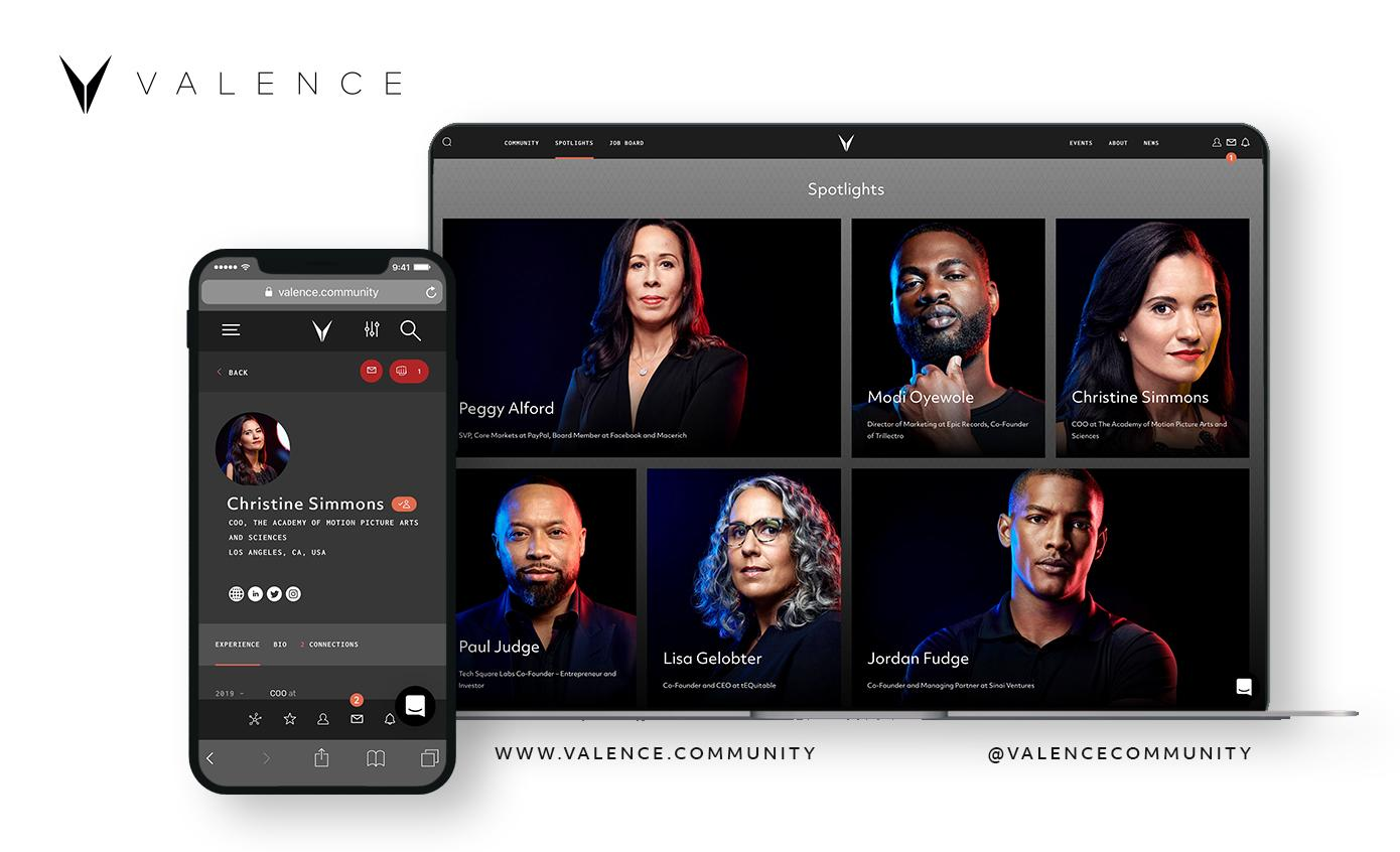 Valence launches a social network for black professionals