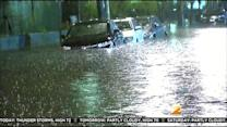 Rain Leaves Soggy Mess In New Jersey