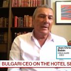 Bulgari CEO Jean-Christophe Babin Bulgari CEO Expects to Recover Most Lost Sales Within 2 Years